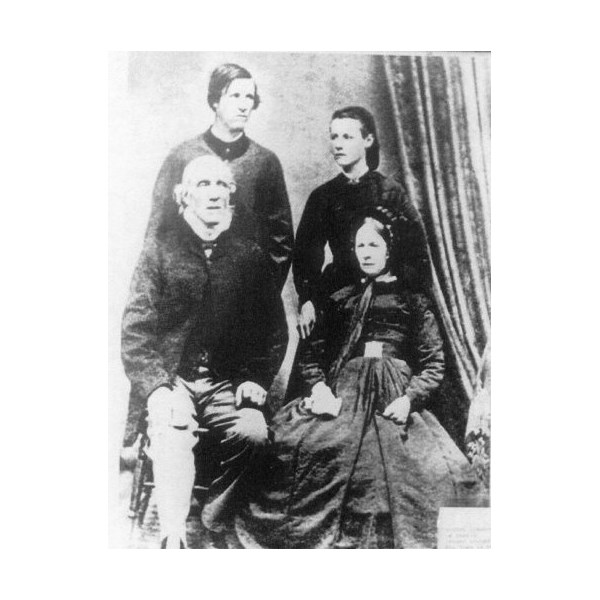 Robert Blinman, his wife Hannah, and a son and a daughter