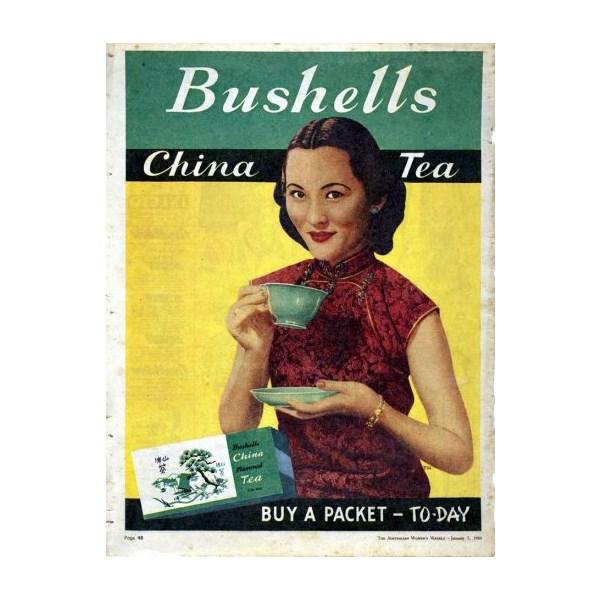 Advertisement - Bushells China Tea, 1950
