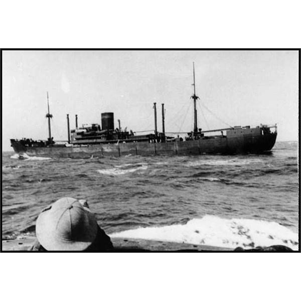The auxiliary cruiser Kormoran in 1940