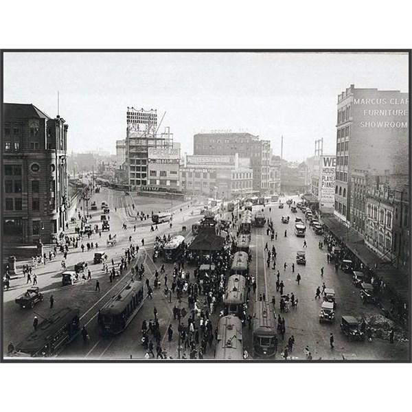 3 Railway Square tram interchange circa 1930