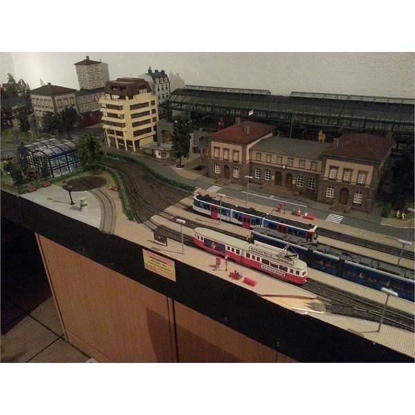 Model Trams in N?rnberg