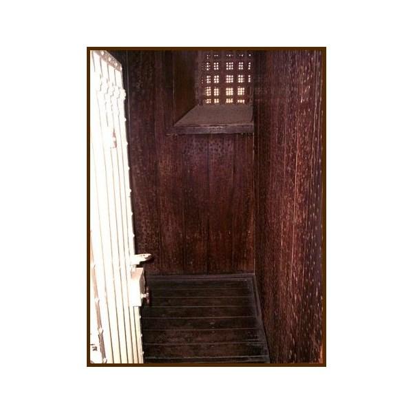 Moondyne Joe's escape proof cell