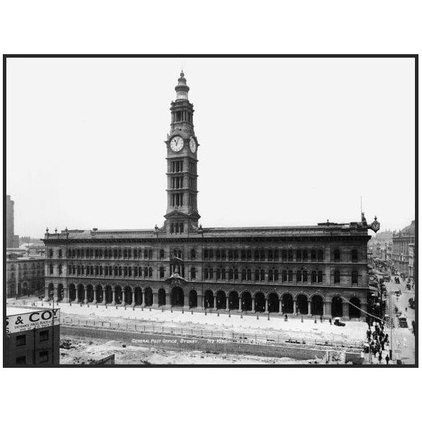 GPO main facade 1900