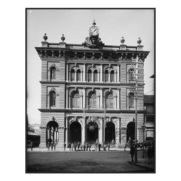 George Street facade 1900