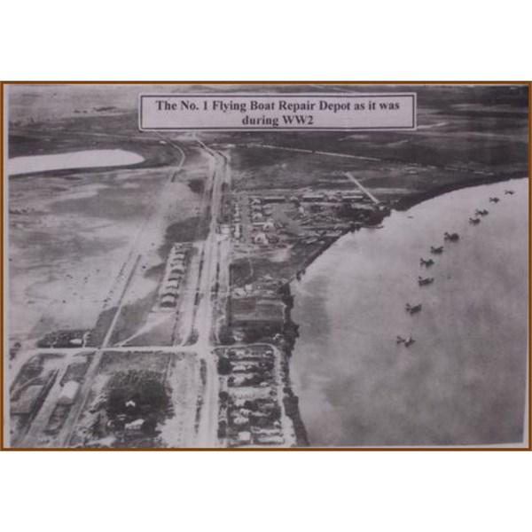 No 1 Flying Boat repair Depot during WW2