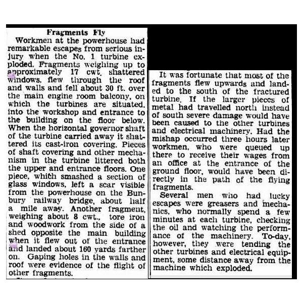 Newspaper report part 2  June 5th 1947