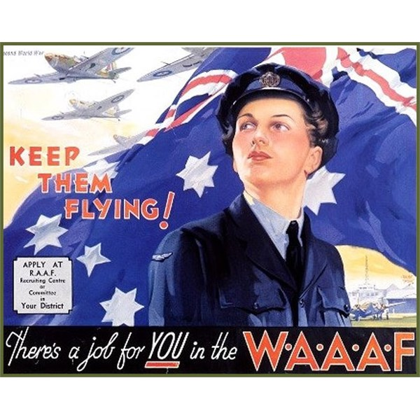 Women's Auxiliary Australian Air Force Poster