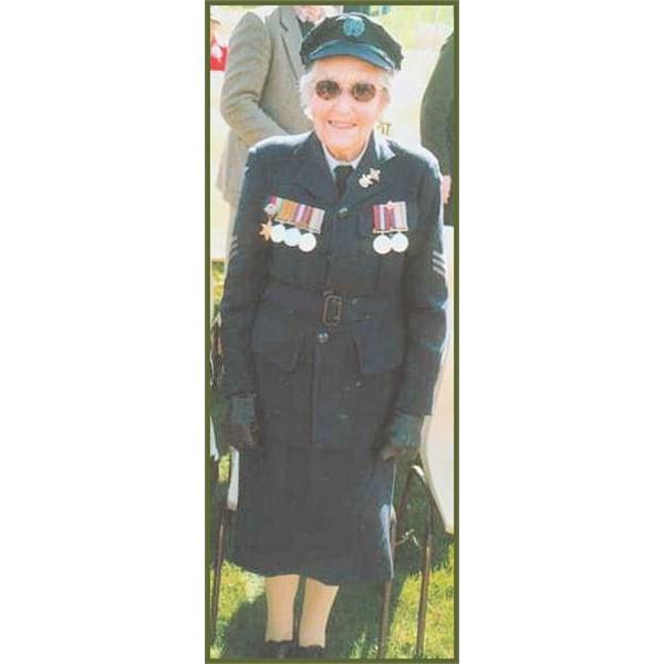 'One of the Originals' - WAAAF Sgt. Dorothea Watson (Andrews)