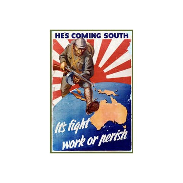 1942 Australian propaganda poster.