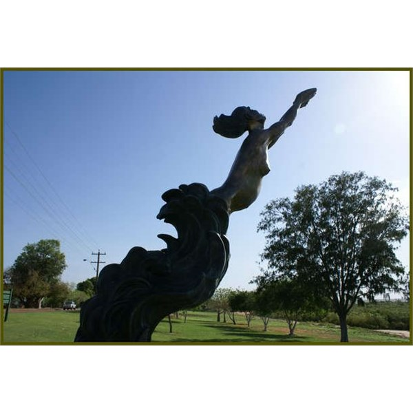 Memorial to the Indigenous  Female Pearl Divers Broome