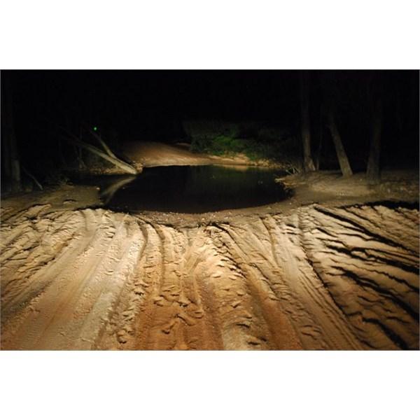 Wet Creeks in the Dark