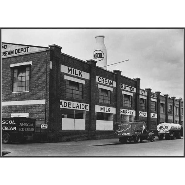 Amscol Factory on Carrington Street