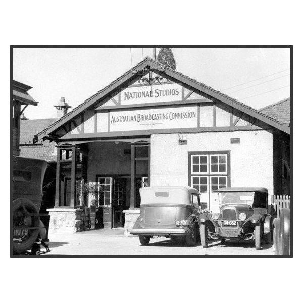 The ABC's Perth headquarters in 1937