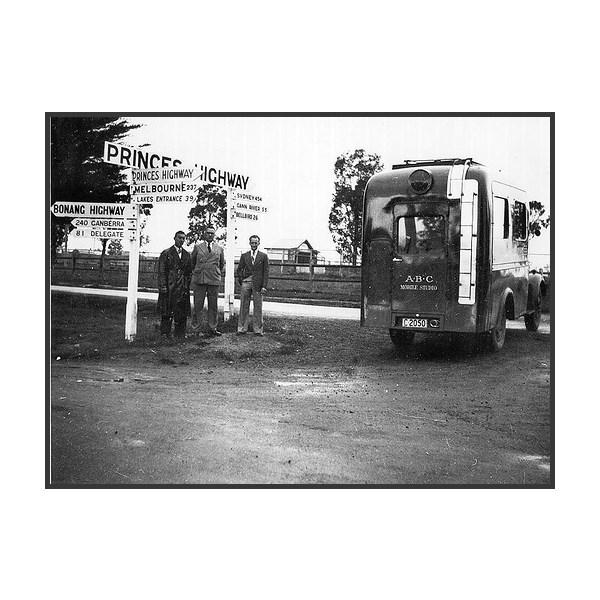 ABC Mobile Studio Van On Princes Highway