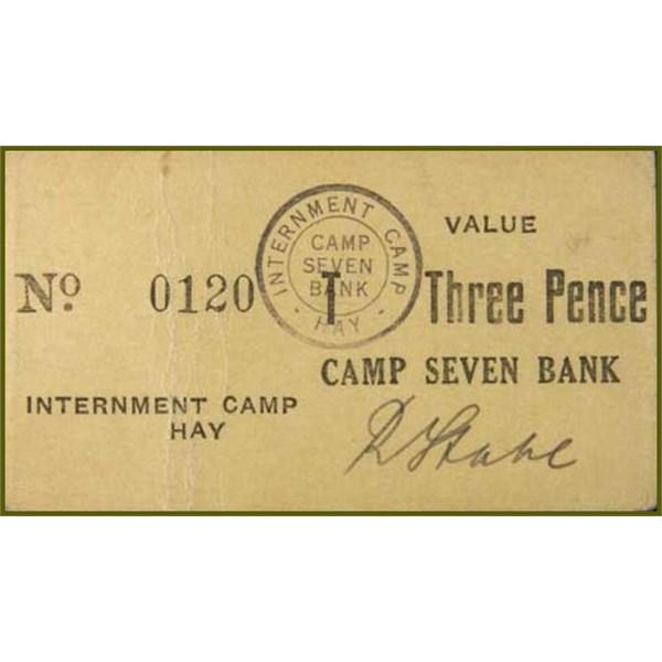 Hay Internment Camp Threepence