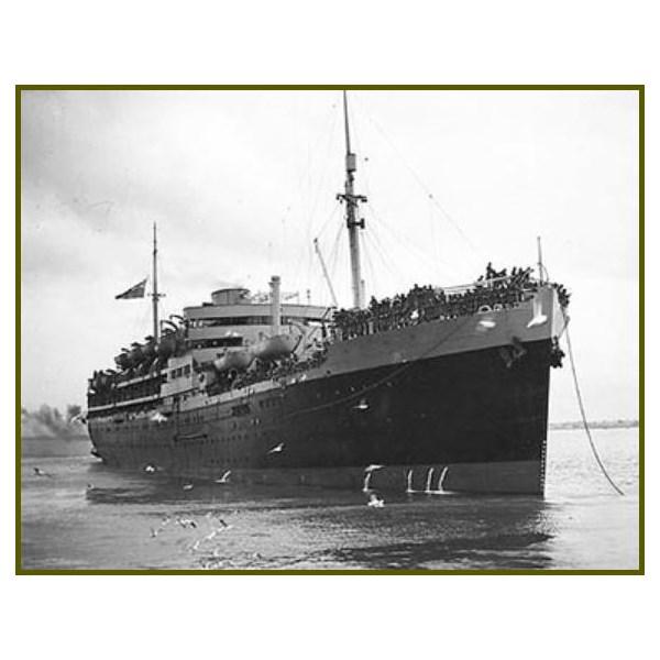 HMT Dunera, 1940