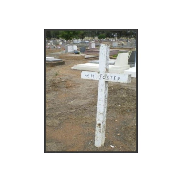 William ''Bricky'' Foster's grave in the Anglican section of Forbes Cemetery,
