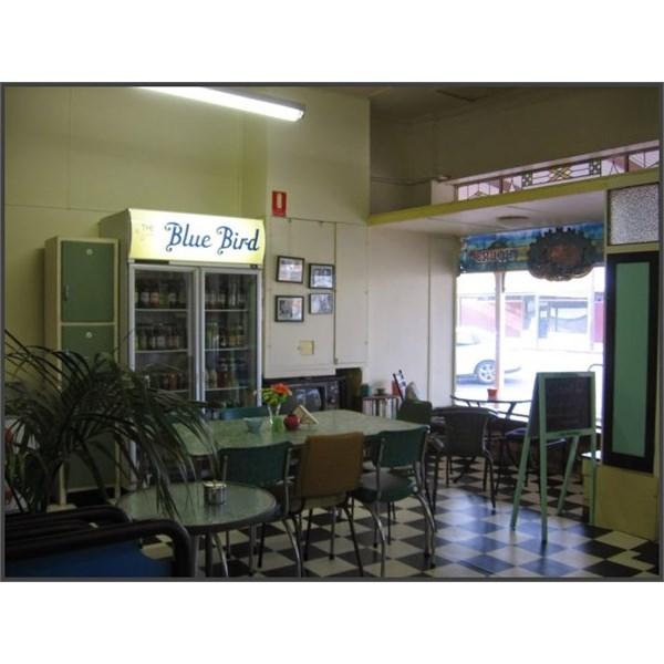Bluebird Cafe Lockhart Interior