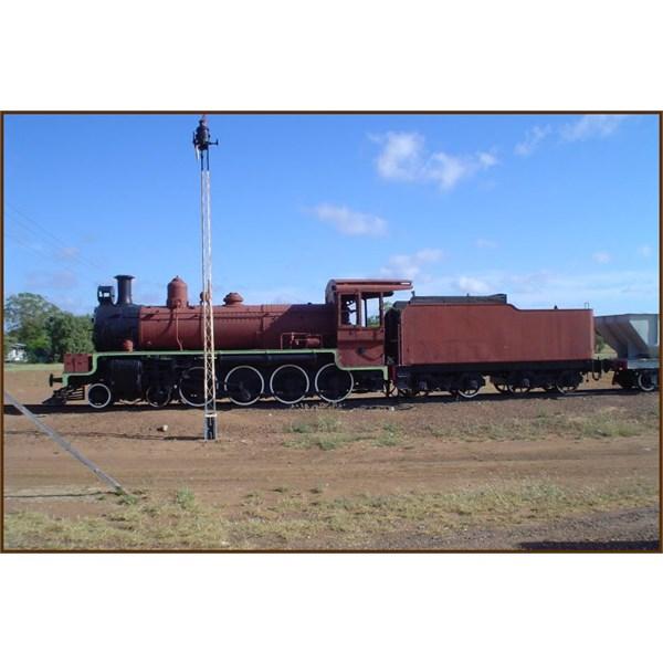 Steam Train at Blackwater