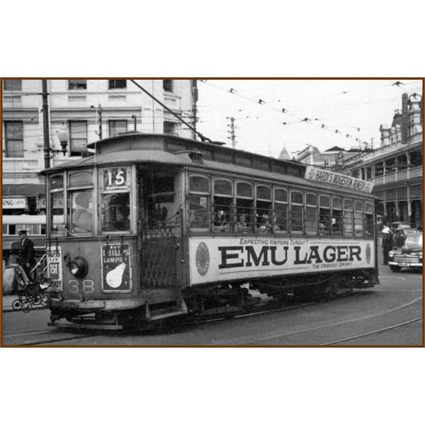 Perth tram 38 -1950