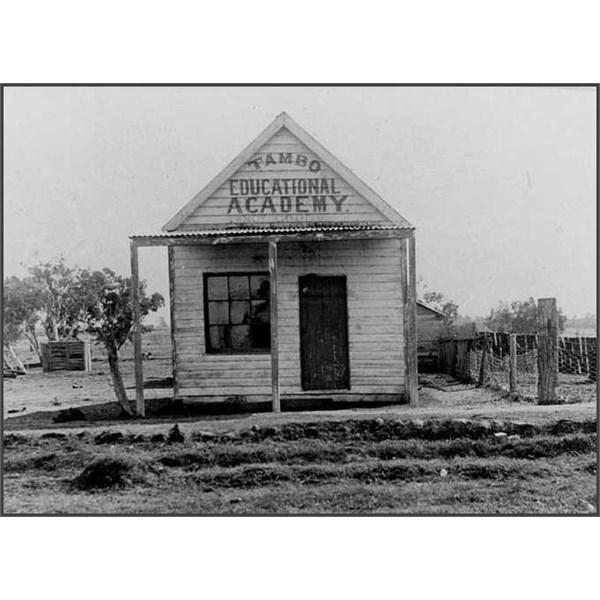 Educational Academy at Tambo, 1905