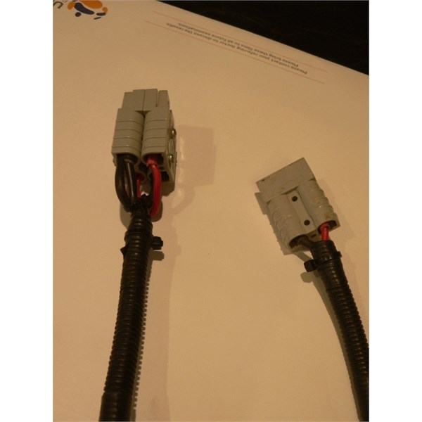 Anderson double adapter