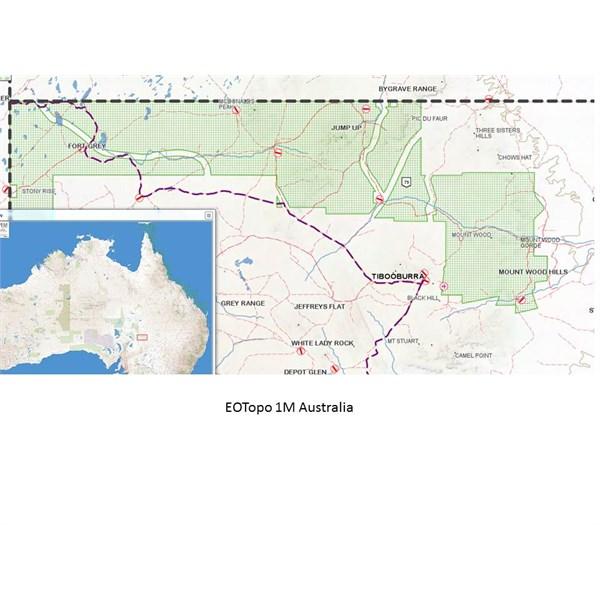 EOTopo 1M Australia OziExplorer