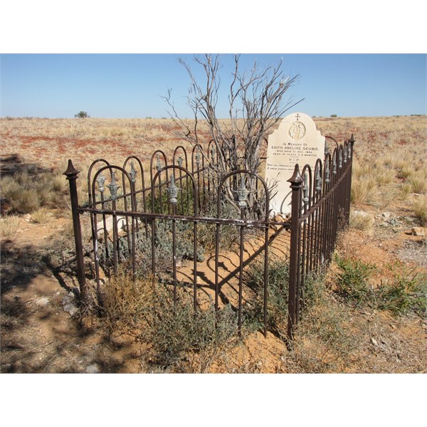 Lonely Grave at Mulka Store