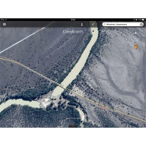 Cooper Creek Road Crossing near Windorah Qld