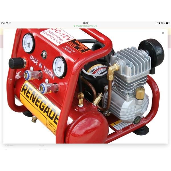Trade tools 12v Compressor