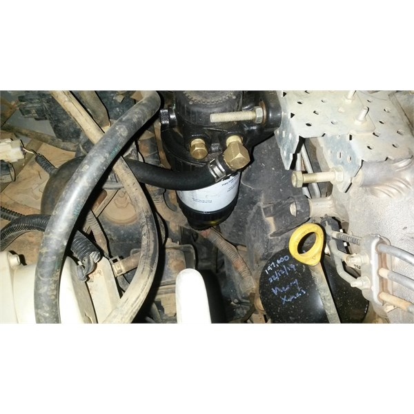 There is an inlet and outlet on both sides. U choose which U use. This hose from tank.