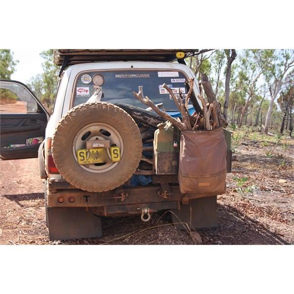 Rear bar loaded up