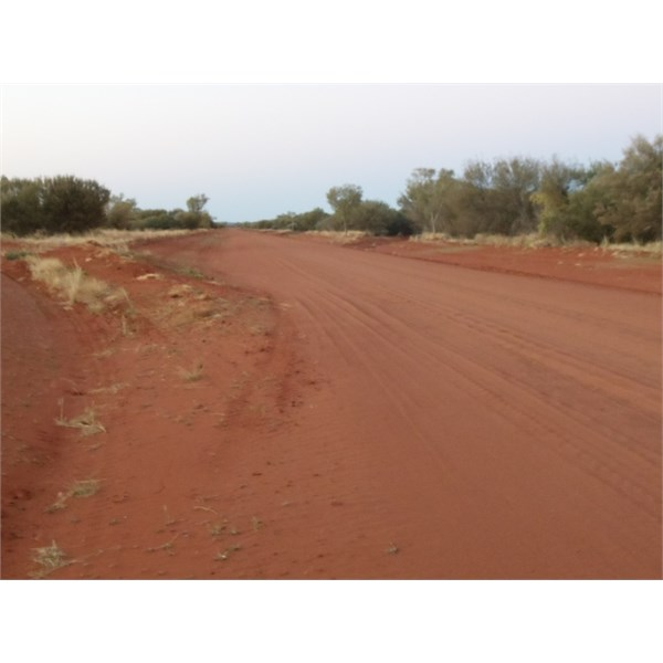 About 80 kms from Plenty Highway Junction