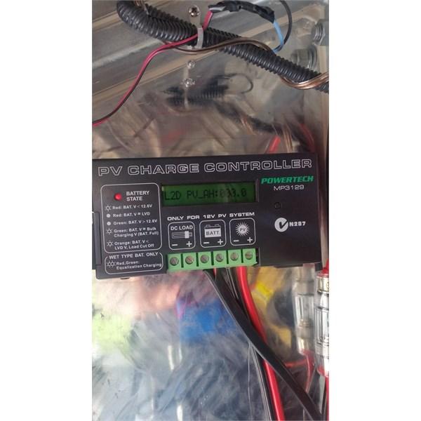 Solar charger regulator
