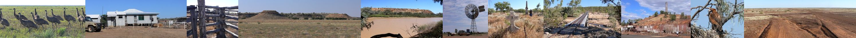 Scenes of Northwest Queensland - By: Member - John and Val