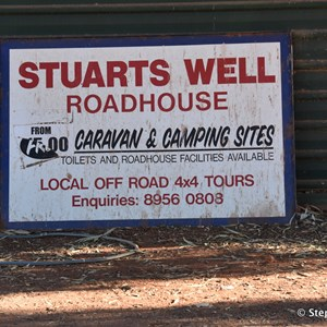 Stuarts Well Caravan Park