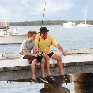 Jacobs Well Tourist Park - a fishing and boating haven, North Gold Coast
