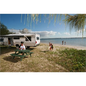 Waterfront sites Broadwater Tourist Park, Gold Coast