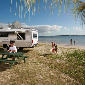 Waterfront sites Broadwater Tourist Park, Gold Coast