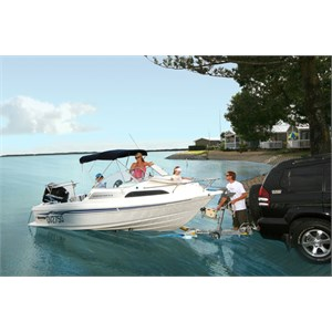 A boating haven, Broadwater Tourist Park, Gold Coast