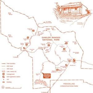 Gawler Ganges National Park Map
