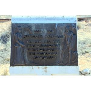 Daisy Bates Memorial Plaque