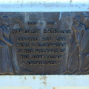 Daisy Bates Memorial Plaque