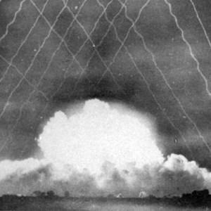 Cross Hatch effect from the Smoke Rockets