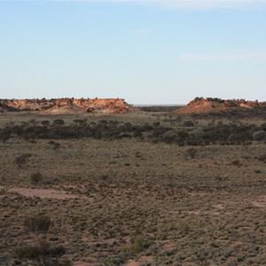 Desert's Gate from West