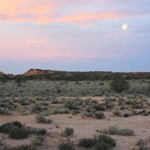 Moon over Desert's Gate