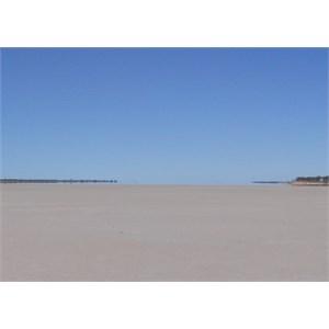 Lake Johnston mirage