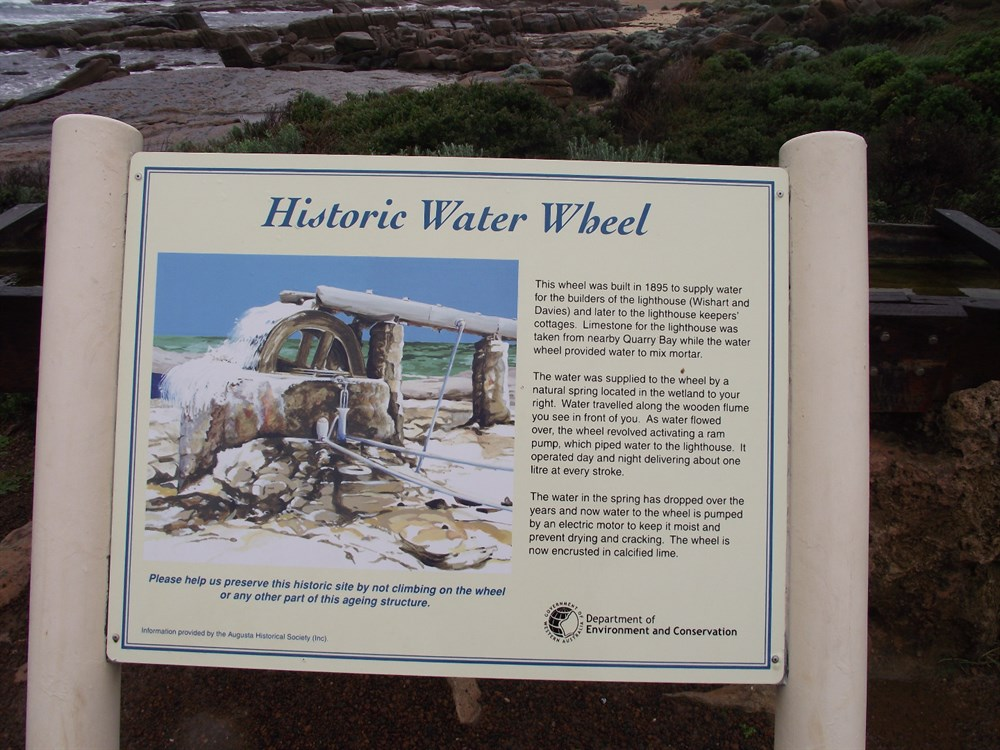 Calcified Water Wheel WA @ ExplorOz Places