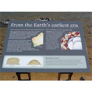 Lake Thetis signage.