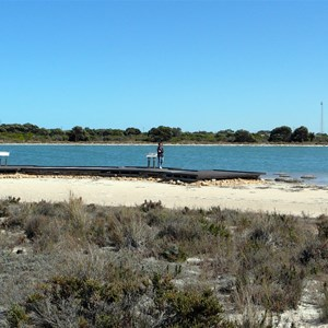 Lake Thetis has a first class boardwalk over its sensitive environment.